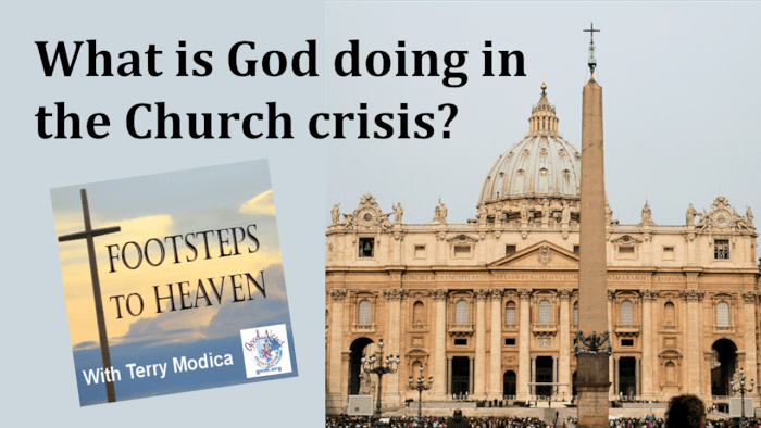 What is God doing in the Church Crisis?
