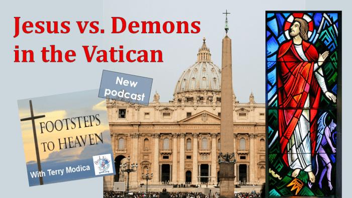 Jesus vs. Demons in the Vatican