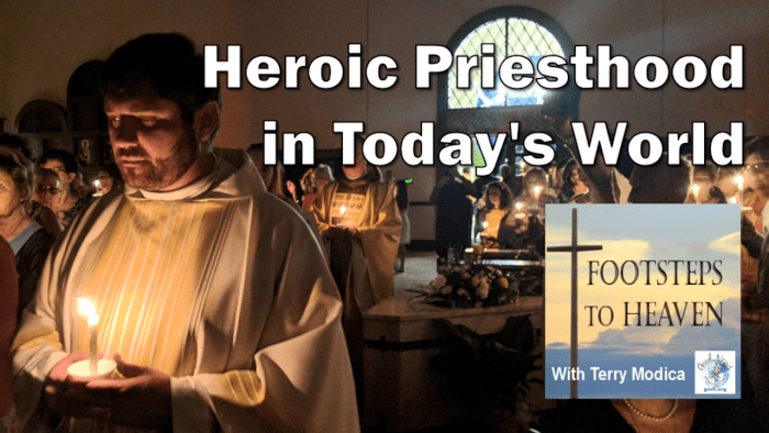 """From the Depths of Our Hearts"" is about heroic priesthood"