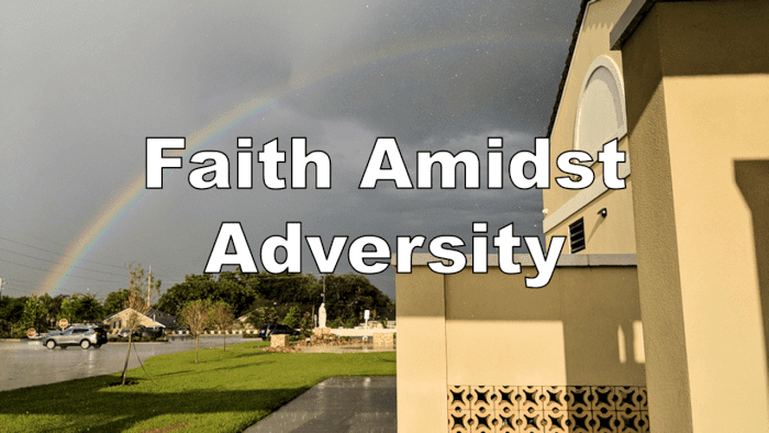 Faith Amidst Adversity