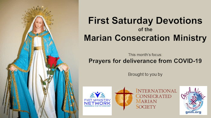 First Saturday Marian Devotions