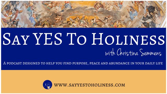say yes to holiness